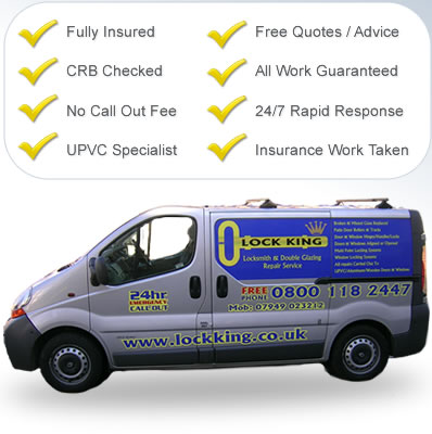 locksmith Rainham essex lock king